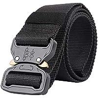 LIOOBO Cinturón de Hebilla de Nylon al Aire Libre Longitud Lienzo cinturón  de Entrenamiento cinturón Transpirable 8b0e13b048a7