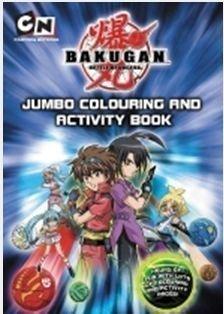 Bakugan: Jumbo Colouring and Activity Book