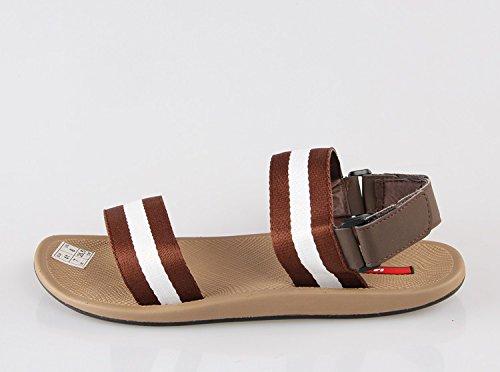 les sandales, pantoufles de la mode des chaussures de plage l'été, fan de sport, pour les étudiants, des pantoufles et pantoufles Brown