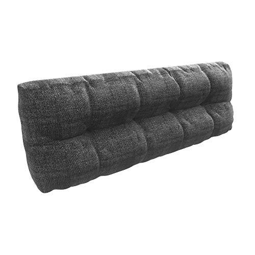 MSS® Rückenkissen für Bett Rückenlehne Keilkissen für Couch und Sofakissen Rückenkissen für Lounge oder Palettenkissen