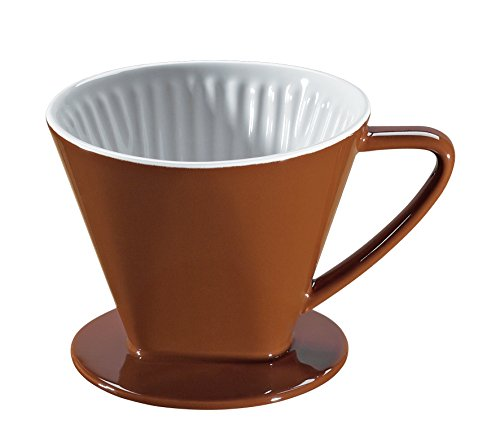 Cilio 105568 Kaffeefilter Größe 2, marone