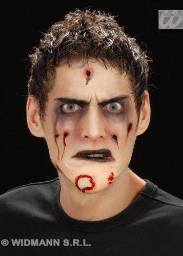 Halloween-Stick am verrotten Zombie Chin