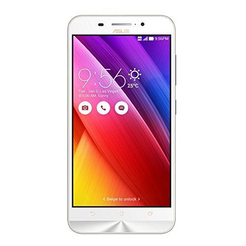 Asus ZenFone Max Smartphone, Dual-SIM, 16 GB, Bianco