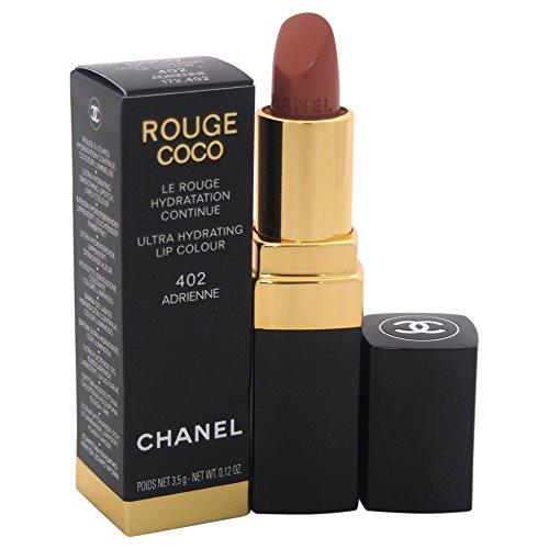 Chanel Rouge Coco Lippenstift 402 - adrienne 3.5 g - Damen, 1er Pack (1 x 1 Stück)