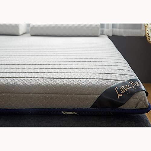 ASD&F Latex-matratze,verdickt Folding Belüftet Double Single Weich Student Schlafsaal Bett Matratze Matratze Schlafen Sleeping Mat Schlafen Pad-grau A 180x200cm(71x79inch)
