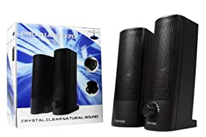 Powercool Enceintes multimédia Pro Audio 370 USB 2.0 RMS 6W