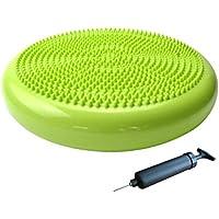 amara-global Luftkissen Ballsitzkissen Balance Board Sitzkissen Luft Kissen Massage mit Pumpe