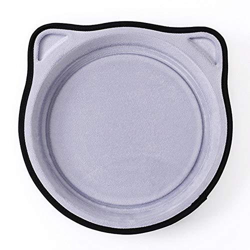 WDD Kreative KatzenWurf mit Suction Cup-Fenster Händchen Katzenschaufel Rest Sonnenschutz Schlaf-Non-Lip-Ssicherheit (Gray)