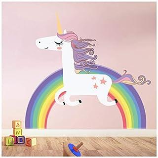 azutura Unicorn Wall Sticker Rainbow Wall Decal Art Girls Bedroom Nursery Home Decor available in 8 Sizes XXX-Large Digital