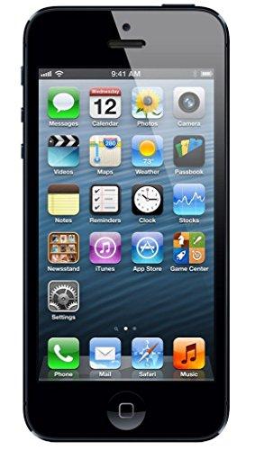 Apple iPhone 5 Negro 16GB Smartphone Libre (Reacondicionado Certificado)