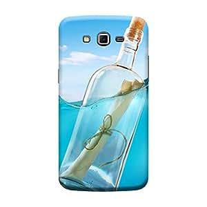 Desicase Samsung Grand 2 7106 Thirsty 3D Matte Finishing Printed Designer Hard Back Case Cover (Blue)