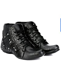 fadiso Men's Synthetic Boots
