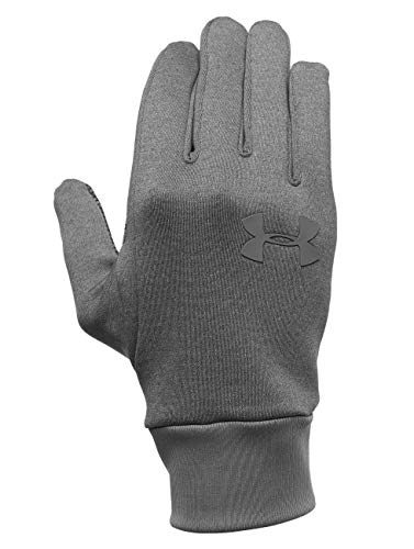 Under Armour Herren Rüstung Liner 2.0 Handschuhe, Steel/Graphite, XS