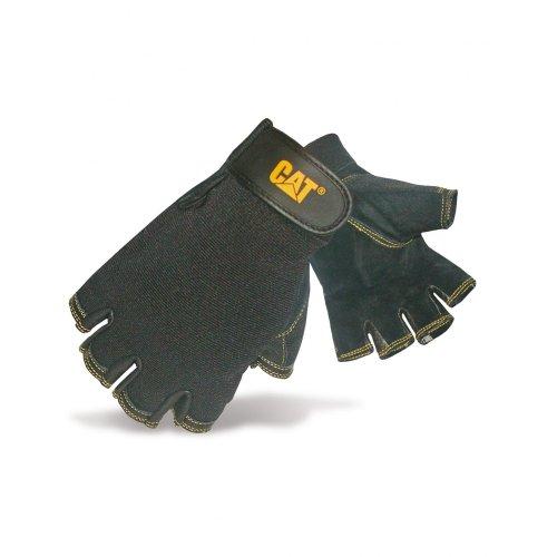 Caterpillar 12202 - Mitaines en cuir de porc retournée - Homme (Médium) (Noir)