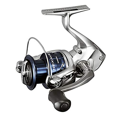SHIMANO Nexave C 5000 HG FE, Spinning Angelrolle mit Frontbremse, NEXC5000HGFE Fe 320