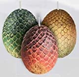 Game of Thrones House Dragon Eggs Sculpted Insignia Candle
