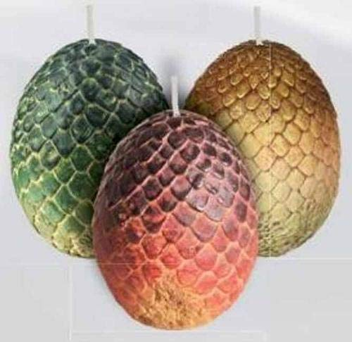 Preisvergleich Produktbild Game of Thrones: Sculpted Dragon Egg Candles (Game of Thrones Candle)