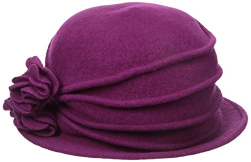 scala-womens-knit-wool-cloche-hat-with-double-flower-berry-one-size