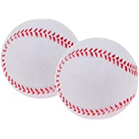 Injoyo 2Pcs Soft Training Baseball Softball Child Kids Team Game Práctica De Juego - Blanco