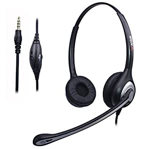 Wantek Cuffie USB Stereo con Microfono a Cancellazione del Rumore e  Controllo del Volume 19078cceba2d