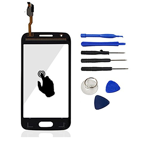 Black Color With Tools Front Glass Digitizer Touch Screen Panel Sensor Glass Replacement For Samsung Galaxy Trend 2 Lite G318 G318h  available at amazon for Rs.1599