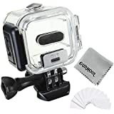 Gurmoir Waterproof Diving Housing Case For Gopro Hero 5 Session/Hero 4 Session/Hero Session,45m Underwater Dive Protective Case With Anti-Fog Inserts For Gopro Session