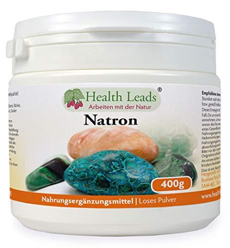 Natron (Loses Pulver) 400g | Optionen für mehrere Größen