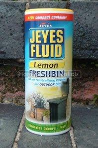 Jeyes Flüssigkeit Freshbin Pulver (Zitrone) 550g