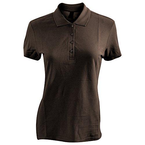 SOLS Passion - Polo 100% coton à manches courtes - Femme Bordeaux