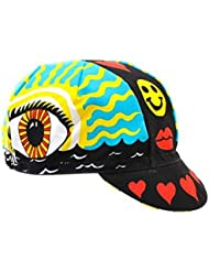 Cinelli Cap Eye of the Storm Cycling Road Bike Fixie Cap-6-9-7018 by Cinelli