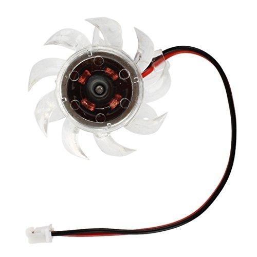 SODIAL(R) Mini Ventilador de Refrigeracion Enfriador Disipador CC 12V para CPU de...