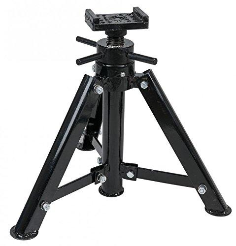 Preisvergleich Produktbild KS Tools 160.0441 Stahl-Spindel-Unterstellbock, 12t, 456-710mm