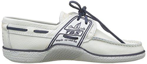 TBS Herren Globek B8 Bootschuhe Blanc (Blanc Encre)