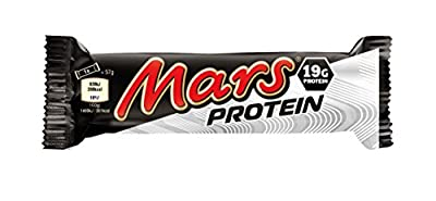 Mars Protein Bar (Pack of 18 bars) by Mars Food