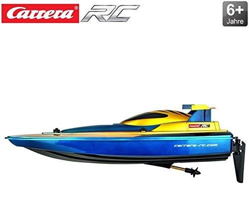 RC Race Blau / Gelb Motorboot von Carrera