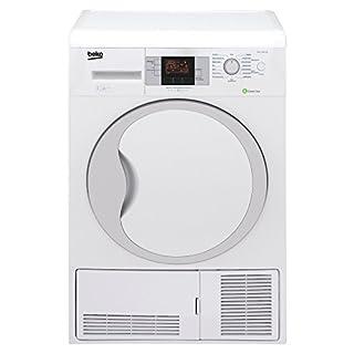 Beko DPU 7306 XE Wärmepumpentrockner / A+++ / 7kg / Weiß / FlexySense Feuchtigkeitssensor / Trommelbeleuchtung / Automatischer Knitterschutz / Reversierende Trommelbewegungen