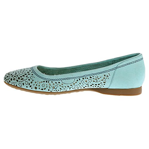 Sperry Top-sider Marina Moccasin Teal Perfed Nubuck