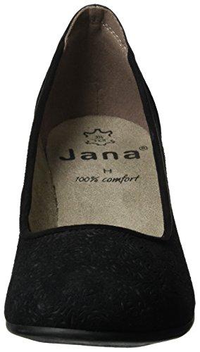 Jana22301 - Scarpe con Tacco Donna Nero (Black 001)
