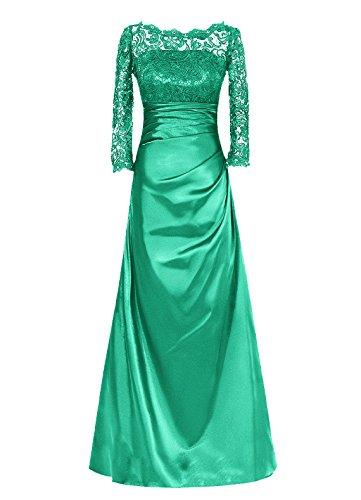 Dresstells, Robe longue de demoiselle d'honneur Robe de soirée Robe de mère de mariée Tenue de mariage Vert