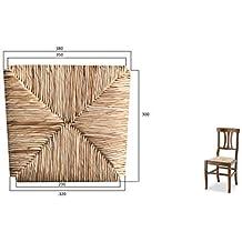OKAFFAREFATTO MADDALONI Rechange Pour Chaise Chassis Rembourrage Fondent Fonds Assise Paille De Riz Mod Arte
