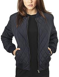 Urban Classics Damen Jacke Ladies Diamond Quilt Nylon Jacket
