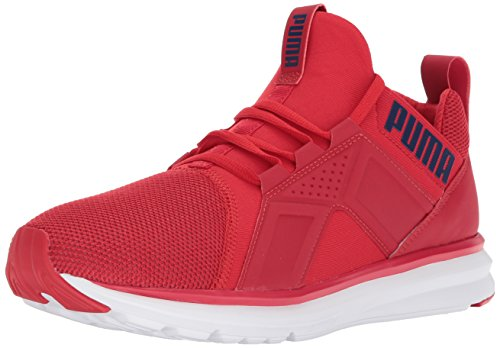Puma Men's Enzo Mesh Wide Sneaker, Medium