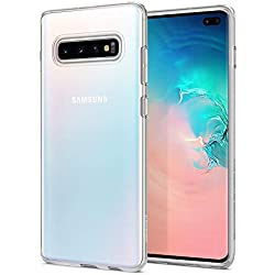 Spigen Liquid Crystal Coque pour Samsung Galaxy S10 Plus 2019 Transparent