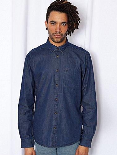 Chemise à manches longues L/S 1Pkt Button-Down Bleu WRANGLER Bleu