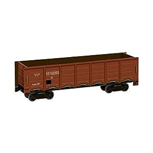 Keranova keranova276-02-Escala 1: 87(16,5x 5x 4cm marrón Clever Papel Ferrocarril Collection góndola Coche 3D Puzzle (20Piezas)