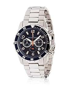 Spinnaker - SP-5009-33 - Stern - Montre Homme - Quartz Chronographe - Cadran Bleu - Bracelet Acier Gris