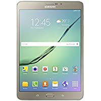 "Samsung SM-T719NZDEITV Galaxy Tab S2 Tablet, Display da 8.0"", Processore da 1.8 GHz, RAM 3 GB, HDD 32 GB, Oro [Versione Italiana]"