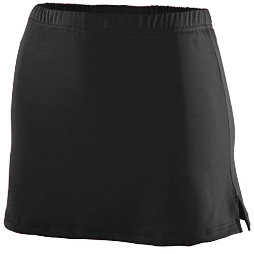 Ladies' Polyester/Spandex Team Skort BLACK L (Skort Team)