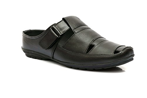 ENZO CARDINI Men's Brown Synthetic Casual Sandal
