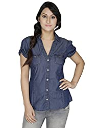 2 OF US Casual Summer Cool Denim Shirt